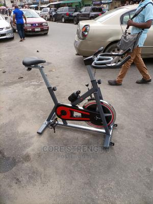 POWERFLEX Commercial Spin Bike With Heavy Wheels | Sports Equipment for sale in Lagos State, Surulere
