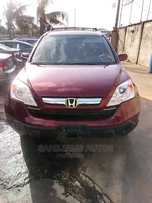 Honda CR-V 2007 EX-L 4WD Automatic Red | Cars for sale in Lagos State, Isolo