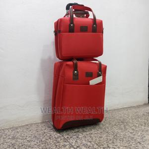 One Small Hand Bag Plus Trolley Luggage for Sale | Bags for sale in Lagos State, Ikeja