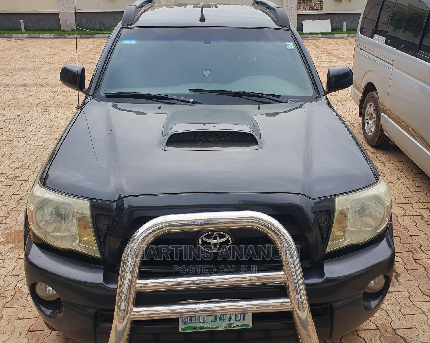 Archive: Toyota Tacoma 2005 Double Cab V6 4WD Black