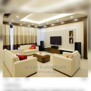 6seater Fabric Sofa+Table (Time:5days) Can Be Made in Colors | Furniture for sale in Lagos State, Victoria Island