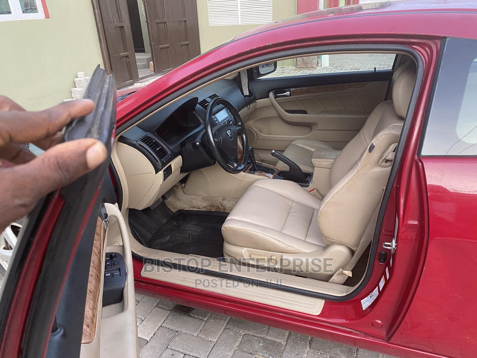 Honda Accord 2003 Coupe Red | Cars for sale in Oshodi, Lagos State, Nigeria