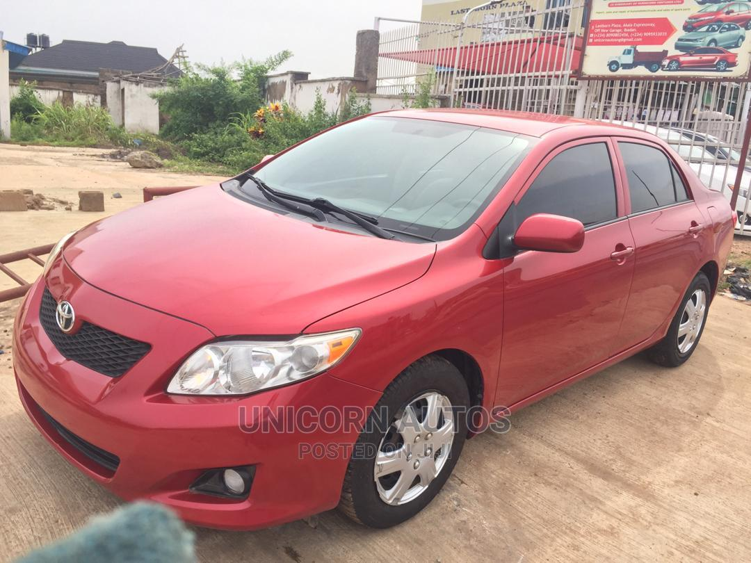 Toyota Corolla 2010 Red | Cars for sale in Oluyole, Oyo State, Nigeria