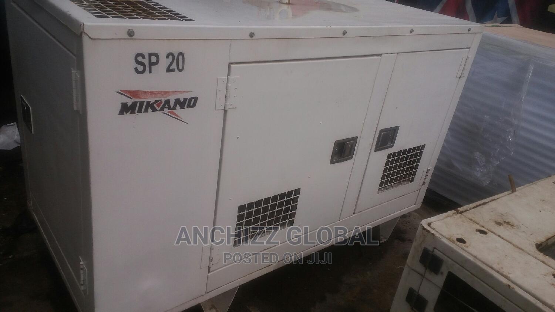20kva Soundproof Mikano U.K Perkins Generator