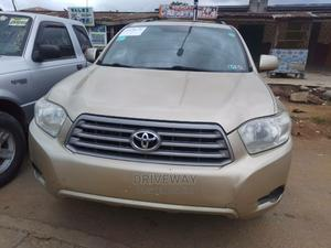 Toyota Highlander 2008 Limited Gold   Cars for sale in Lagos State, Alimosho