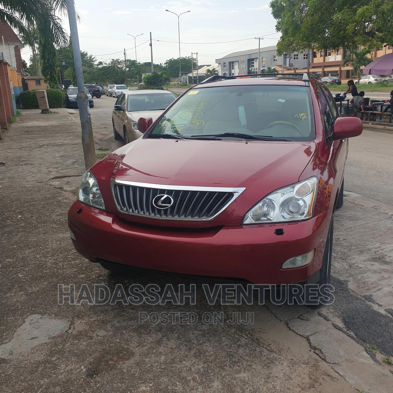 Lexus RX 2009 350 AWD Red   Cars for sale in Amuwo-Odofin, Lagos State, Nigeria