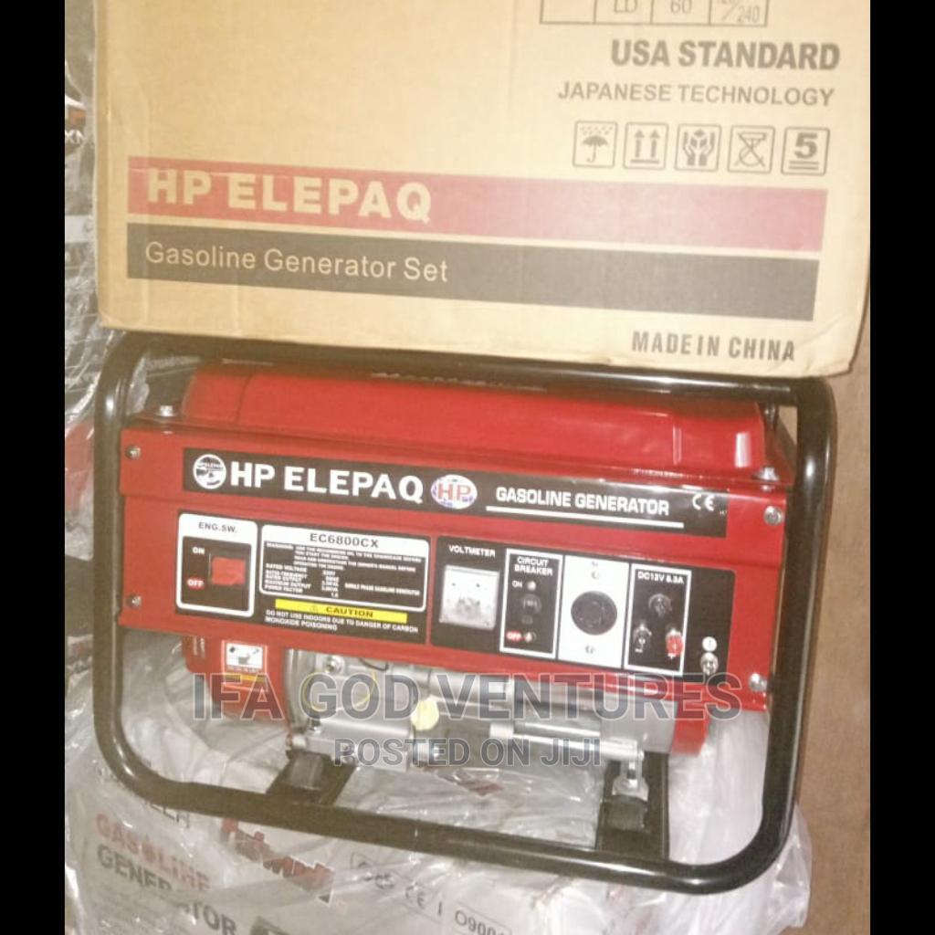Elepaq Ec6800cx Generator