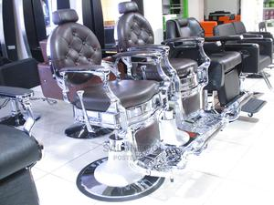Stainless Barber Chair | Salon Equipment for sale in Lagos State, Lagos Island (Eko)