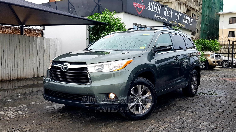 Toyota Highlander 2014 Green