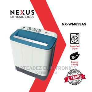 Nexus 6.5KG Twin Tub S/Automatic Washing Machine (NX-WM-65SA   Home Appliances for sale in Lagos State, Ojodu