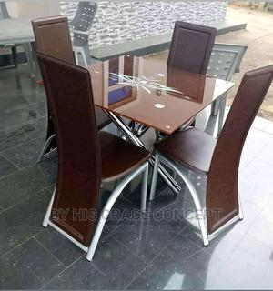 Crossing Leg Dinning Table With Four Chairs   Furniture for sale in Lagos State, Ojo