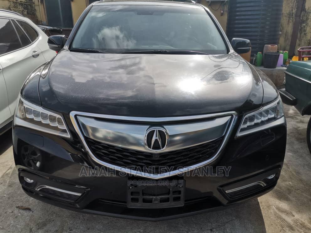 Acura MDX 2017 Black