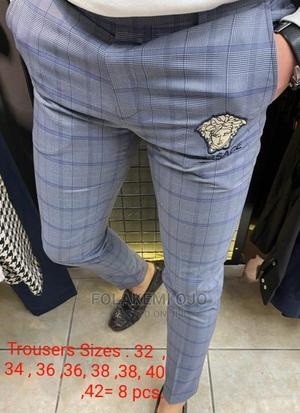 Turkish Versace Designer Trousers. Available Is Sizes | Clothing for sale in Lagos State, Abule Egba