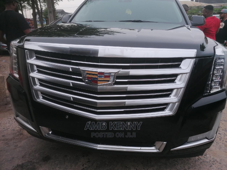 Cadillac Escalade 2015 Black