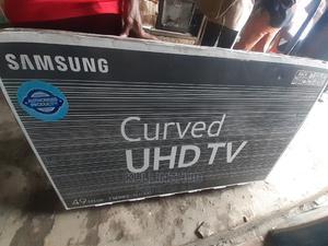 Samsung 49 Inch 2019 Curved 4K RU7300 Ultra Slim Smart TV | TV & DVD Equipment for sale in Lagos State, Ojo