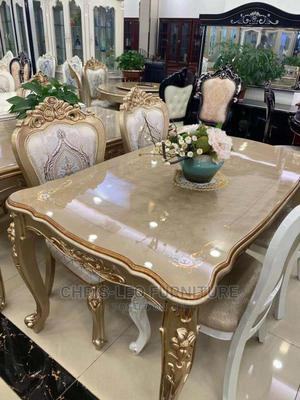 6 Seater Royal Dinning Table | Furniture for sale in Lagos State, Maryland