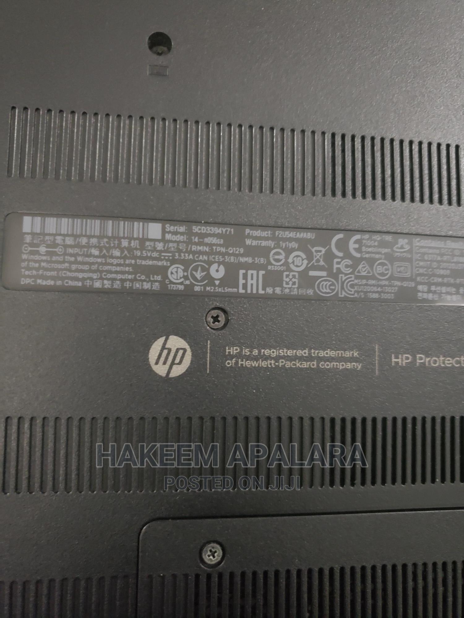 Archive: Laptop HP Pavilion 14 4GB Intel Core I3 500GB
