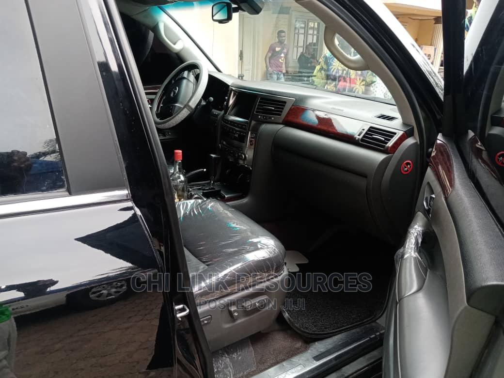 Archive: Lexus LX 2021 Black