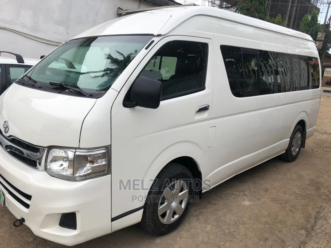 Toyota Hiace 2014 White   Buses & Microbuses for sale in Ikeja, Lagos State, Nigeria