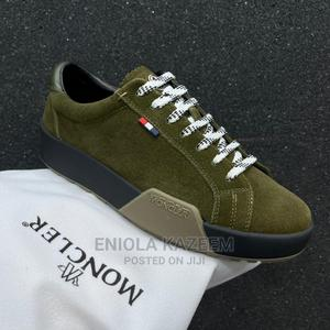 Original Designer Moncler Suede Leather Sneakers | Shoes for sale in Lagos State, Lagos Island (Eko)