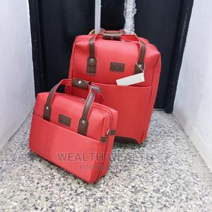 Red Xisello Designed Luggage Box for Sale   Bags for sale in Lagos State, Ikeja