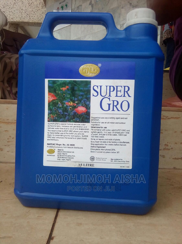 Super Gro Organic Liquid Ferterlizer