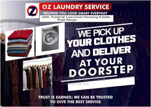 Oz Laundry Services/Drycleaning | Cleaning Services for sale in Abuja (FCT) State, Kuje