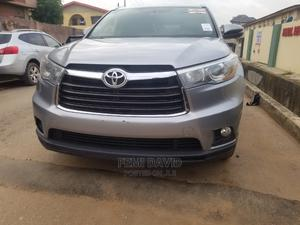Toyota Highlander 2015 Gray | Cars for sale in Lagos State, Magodo