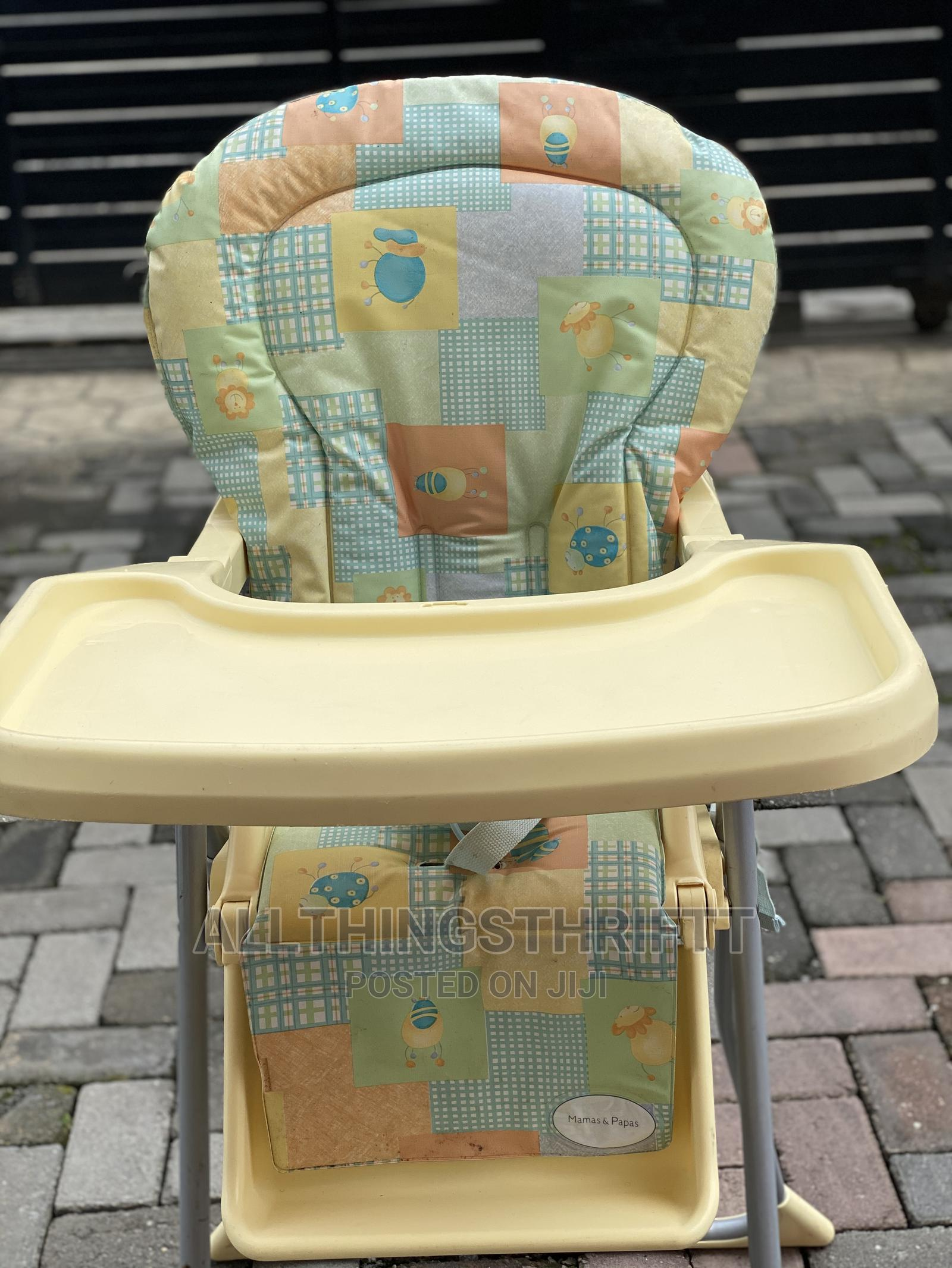 Archive: Tokunbo Uk Used Highchair (Mama Papas)