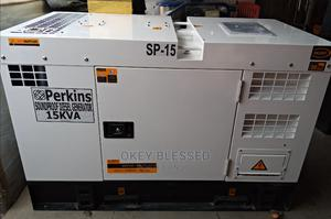 Original 15kva Perkins Soundproof Diesel Generator   Electrical Equipment for sale in Lagos State, Ojo