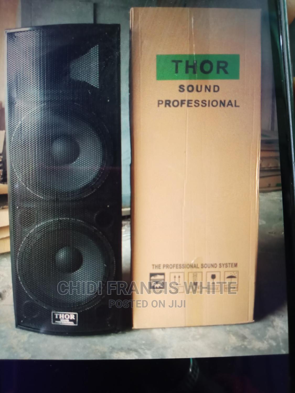 15 Inches Double Speaker   Audio & Music Equipment for sale in Ojo, Lagos State, Nigeria