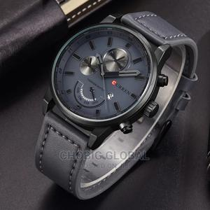 CURREN Light Blue Leather Watch | Watches for sale in Rivers State, Port-Harcourt