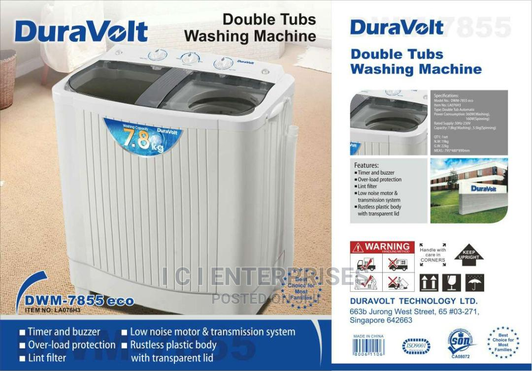 Archive: Duravoult 7.8kg Twin Tube Washing Machine
