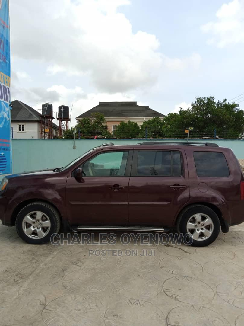 Honda Pilot 2011 Red   Cars for sale in Abule Egba, Lagos State, Nigeria
