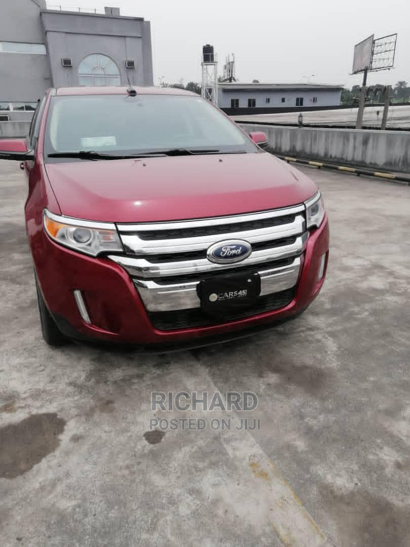 Archive: Ford Edge 2014 Red