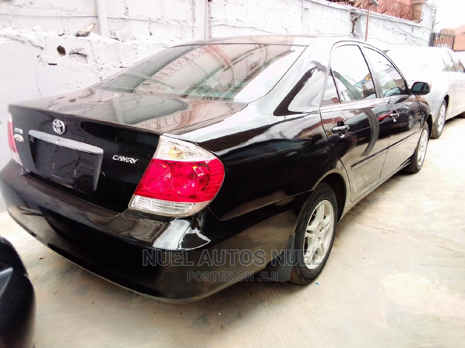 Archive: Toyota Camry 2005 Black