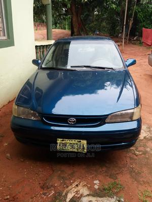 Toyota Corolla 1999 Sedan Automatic Blue | Cars for sale in Edo State, Benin City