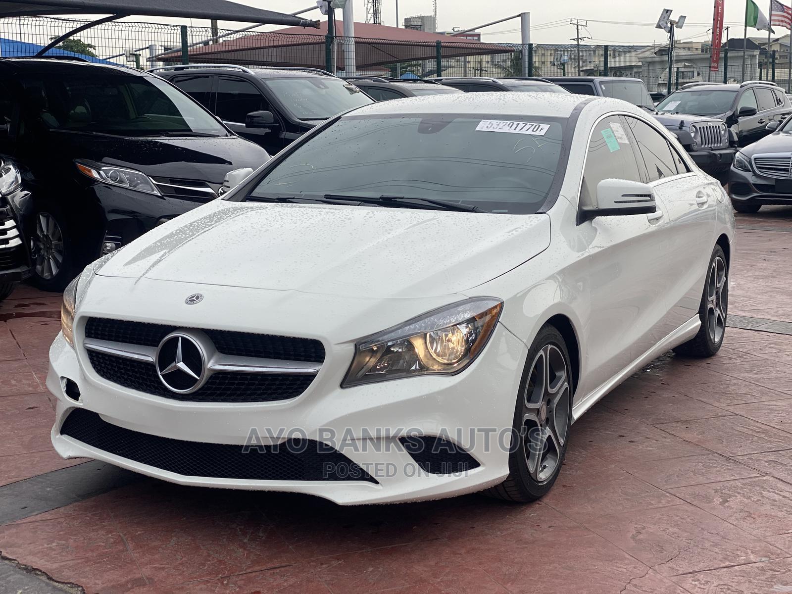 Mercedes-Benz CLA-Class 2014 White