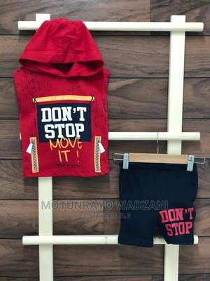 Sleeveless Hooded Top With Shorts   Children's Clothing for sale in Abuja (FCT) State, Gwarinpa
