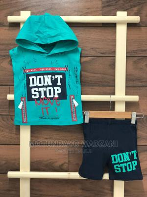 Sleeveless Hooded Tees and Shorts   Children's Clothing for sale in Abuja (FCT) State, Gwarinpa