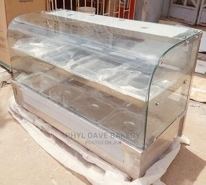 Curve Glass Food Warmer 10plate Up and Down | Restaurant & Catering Equipment for sale in Lagos State, Ojo