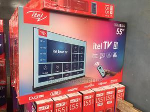 Itel Tv/I5514ae/55in/Digital/Black | TV & DVD Equipment for sale in Lagos State, Agege