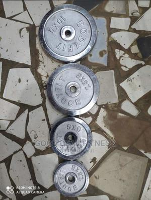 Barbell an Dumbell Weight Plates | Sports Equipment for sale in Lagos State, Surulere