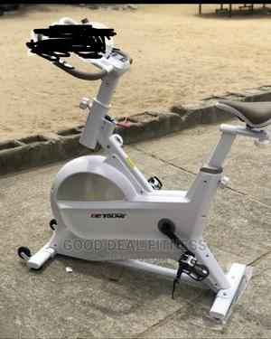 Deyoung Standard Spinning Exercise Bike | Sports Equipment for sale in Lagos State, Surulere