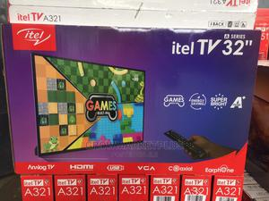 Itel Tv/A32100ae/32in/Analog/Black | TV & DVD Equipment for sale in Lagos State, Agege