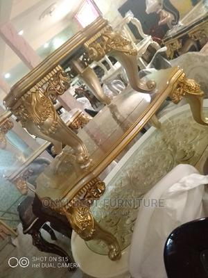 Wooden With Glass Center Table | Furniture for sale in Lagos State, Ojo