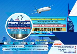Study Abroad Visa | Travel Agents & Tours for sale in Delta State, Warri