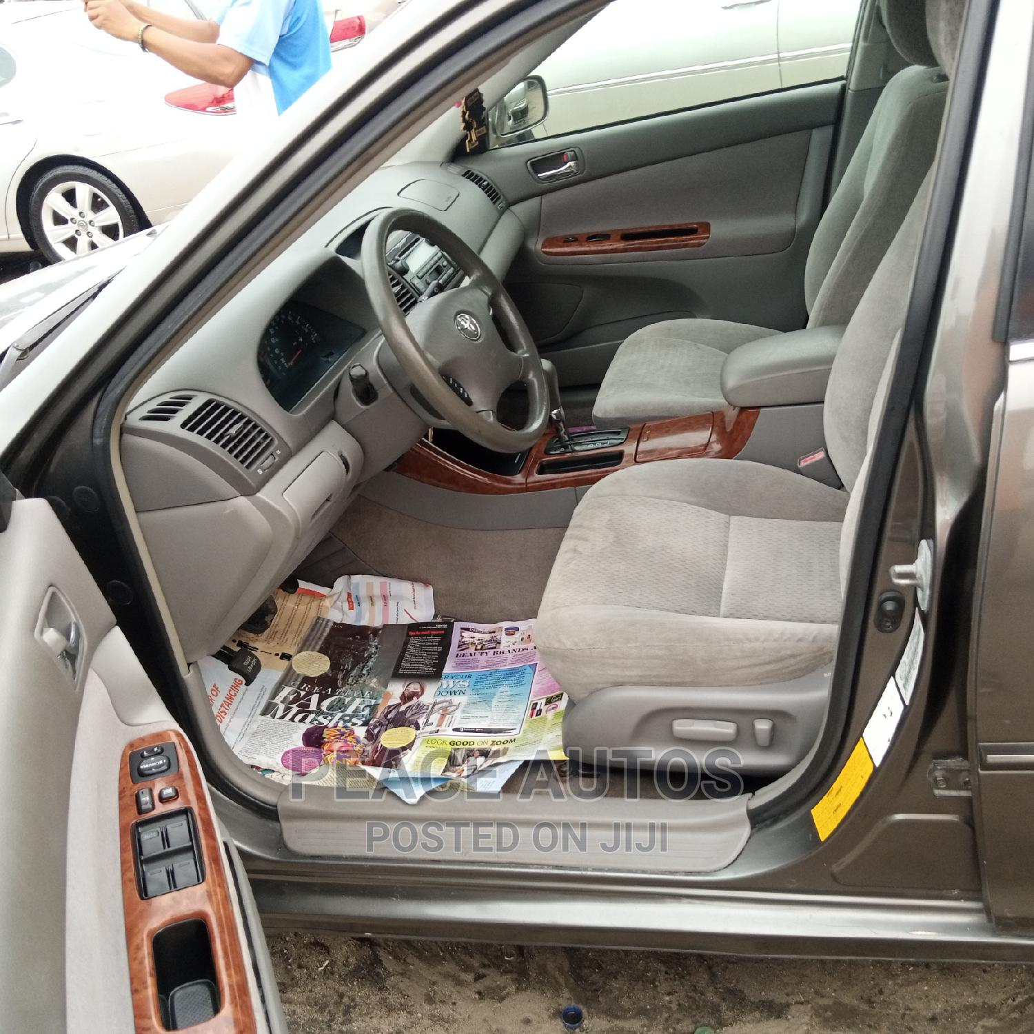 Archive: Toyota Camry 2003 Gray