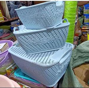 3pcs Storage Basket   Home Accessories for sale in Lagos State, Ogba