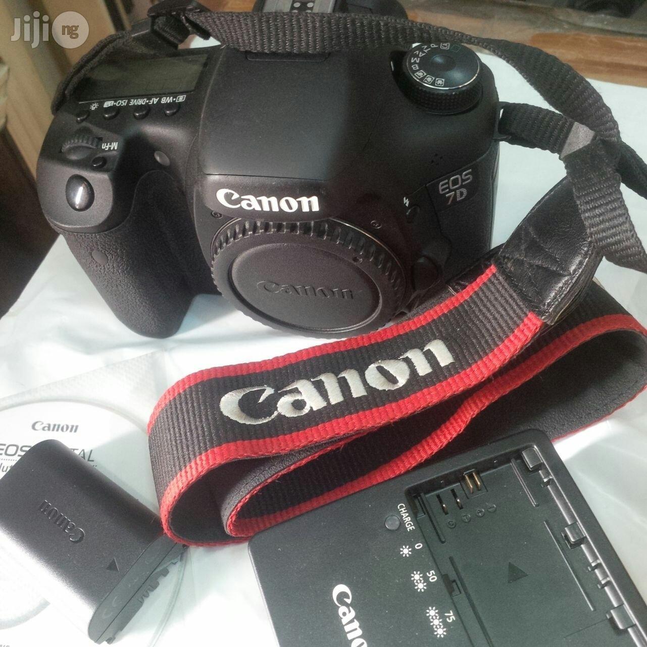 Super Clean Canon EOS 7D Body